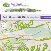 San Diego Tree Map